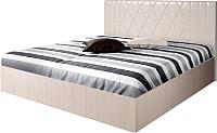 Полуторная кровать Мебель-Парк Аврора 6 200x120 (светлый) -
