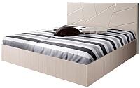Полуторная кровать Мебель-Парк Аврора 7 200x140 (светлый) -