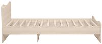 Односпальная кровать Ижмебель Квест 5 90 комплектация 2 (дуб сонома светлый) -