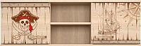 Шкаф навесной Ижмебель Квест 17 (дуб сонома светлый) -