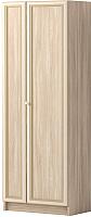 Шкаф-пенал Ижмебель Брайтон 16 (ясень асахи) -