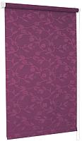 Рулонная штора Delfa Сантайм Жаккард Версаль СРШ-01М 8706 (52x170, фиолетовый) -