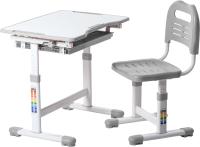 Парта+стул FunDesk Sole (серый) -