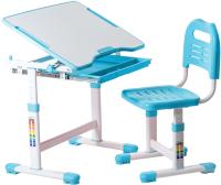 Парта+стул FunDesk Sole (голубой) -