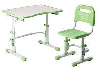 Парта+стул FunDesk Vivo II (зеленый) -