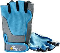 Перчатки для пауэрлифтинга Olimp Sport Nutrition Fitness One Blue / I00004208 (р-р XS) -