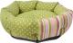 Лежанка для животных Pride Полевые цветы / 10012981 (зеленый) -