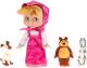 Кукла с аксессуарами Карапуз Маша с тремя друзьми 3 стиха и песенка / 83033AN -