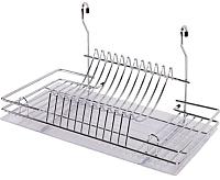 Сушилка для посуды на рейлинг AKS CWJ128B -