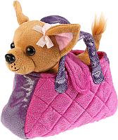 Мягкая игрушка MyFriends Собака в сиреневой сумочке / CT181166 -