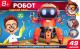 Набор для опытов Играем вместе Школа ученого. Шагающий робот / ZY-919684-R (красный) -