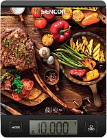 Кухонные весы Sencor SKS 7001BK -