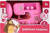 Швейная машина игрушечная Играем вместе Швейная машина Маша и Медведь / B583808-R -