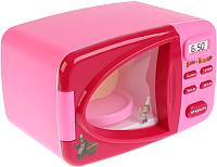 Микроволновая печь игрушечная Играем вместе Микроволновая печь Маша и Медведь / ZY748579-R -