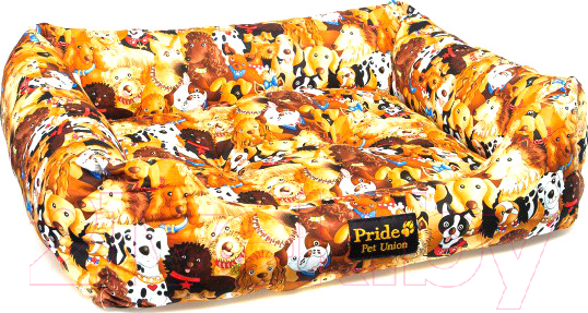 Купить Лежанка для животных Pride, Дог-Шоу / 10011141, Россия