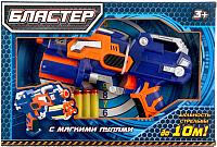 Бластер игрушечный Играем вместе B1247535-R (с мягкими пулями на присосках) -