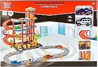 Паркинг Технопарк Парковка с машинками / P4788A-3R -