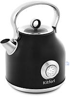 Электрочайник Kitfort KT-673-2 (черный) -