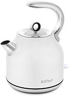 Электрочайник Kitfort KT-675-1 (белый) -