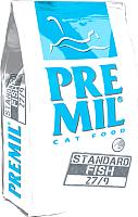 Корм для кошек Premil Standard Fish (10кг) -