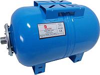 Мембранный бак Wester WAO 80 горизонтальный (для водоснабжения) -