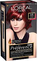 Гель-краска для волос L'Oreal Paris Preference Feria 4.66 (рубин) -