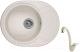 Мойка кухонная Granula 5802 + смеситель GR-4003 (пирит) -