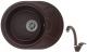 Мойка кухонная Granula 5802 + смеситель GR-4003 (эспрессо) -