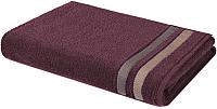Полотенце Aquarelle Исландия 70x140 (темно-бордовый) -