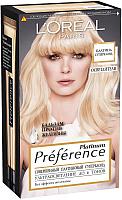 Гель-краска для волос L'Oreal Paris Preference Platinum Суперблонд (6 тонов осветления) -