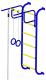 Детский спортивный комплекс Пионер 7 (синий/желтый) -