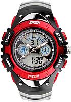 Часы наручные детские Skmei 0998-1  (красный) -