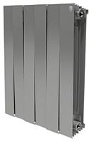 Радиатор биметаллический Royal Thermo PianoForte 500 Silver Satin (1 секция) -
