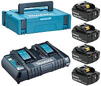 Набор аккумуляторов для электроинструмента Makita 198312-4 (с зарядным) -