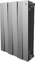 Радиатор биметаллический Royal Thermo PianoForte 500 Silver Satin (6 секций) -