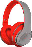 Наушники-гарнитура Freestyle FH0916GR (серый/красный) -