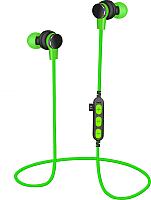 Наушники-гарнитура Platinet PM1061G + microSD (зеленый) -