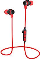 Наушники-гарнитура Platinet PM1061R + microSD (красный) -