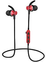 Наушники-гарнитура Platinet Sport PM1060R + microSD (красный) -