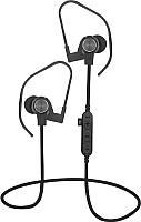 Наушники-гарнитура Platinet Sport PM1062G + microSD (черный/серый) -