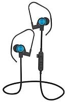 Наушники-гарнитура Platinet Sport PM1062BL + microSD (черный/синий) -