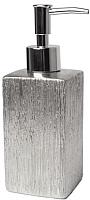 Дозатор жидкого мыла Splendid Floss LA-FLOSS-DOZOWN-SRE (серебристый) -