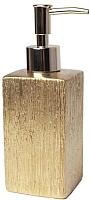 Дозатор жидкого мыла Splendid Floss LA-FLOSS-DOZOWN-ZLO (золотой) -