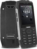 Мобильный телефон MyPhone Hammer 4 (серебристый) -