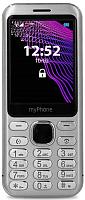 Мобильный телефон MyPhone Maestro (серебристый) -