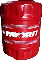 Моторное масло Favorit 4-Takt SAE 10W30 API SL Moto / 56228 (18л) -