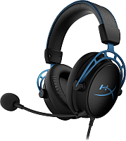 Наушники-гарнитура HyperX Cloud Alpha S / HX-HSCAS-BL/WW -