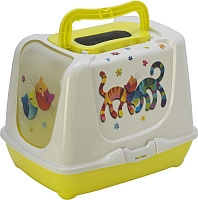 Туалет-домик Moderna Trendy Cat Друзья навсегда / 14C235329 -