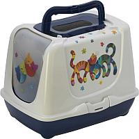 Туалет-домик Moderna Trendy Cat Друзья навсегда / 14C235331 -