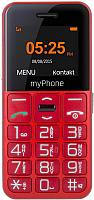 Мобильный телефон MyPhone Halo Easy (красный) -